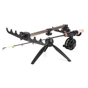Fishing Tripod Stand Holder Stand Up Folded