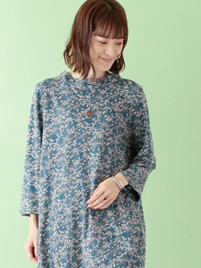 Block Print Cotton Cut And Sewn Tunic Color
