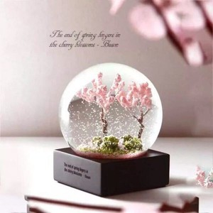 Sakura Crystal Ball Pendulum Decoration