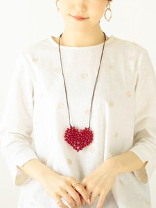 Wood Heart Necklace Color 20