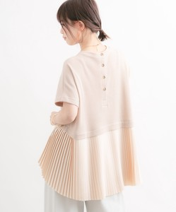 Waffle Pleats Pullover
