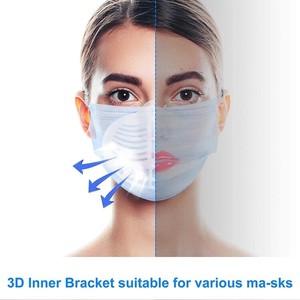マスク用3Dインナーフレーム ブラケット 5個入り 両面テープ付き【2021イチオシ】