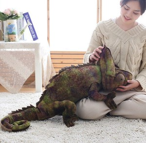 Chameleon Lizard Soft Toy Toy Pillow
