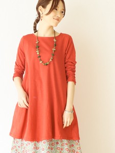 Cotton Jersey Stretch Tunic Color