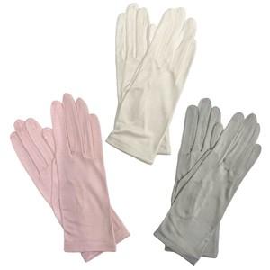 国産シルク手袋