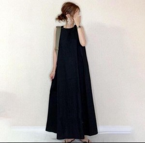 Korea Fashion S/S One-piece Dress Ladies One-piece Dress Long One-piece Dress