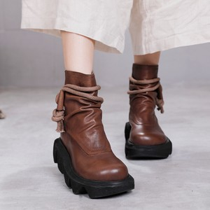 Ladies Wedged Boots