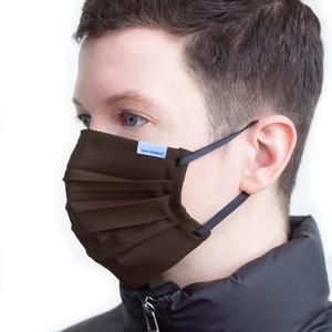 日本製プリーツ型高機能フェイスマスク[ワイヤーレス/ブランドネームタグ付き] / New Heights.