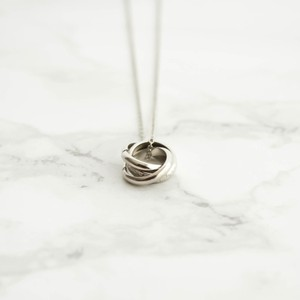Triple Ring Necklace (silver)(gold)