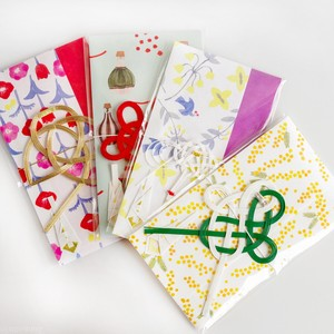Echizen Japanese Paper duct Flower Ties Mizuhiki Gift Money Envelope Celebration