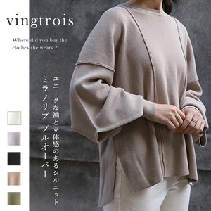Pullover Volume Sleeve Top