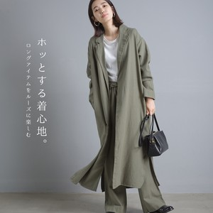Cotton Rayon Tailored Long Robe 20