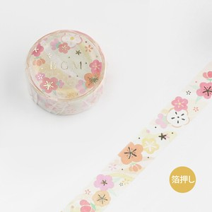 BGM Washi Tape Japanese Sakura
