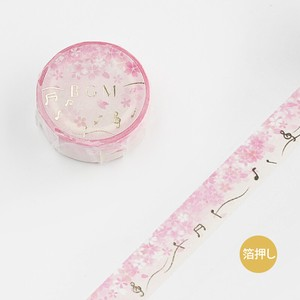 BGM Washi Tape Sakura Love Song
