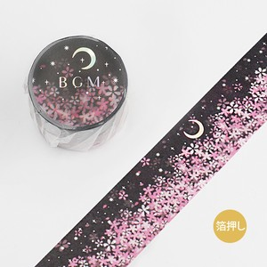BGM Washi Tape Moonlight Sakura