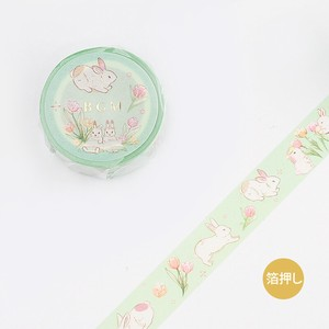 BGM Washi Tape Garden / Rabbit