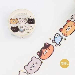 BGM Washi Tape Cats