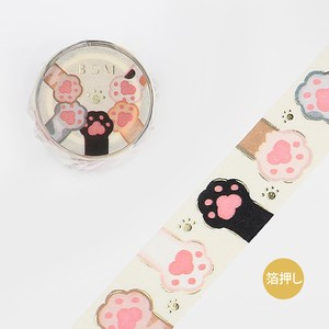BGM Washi Tape Paws