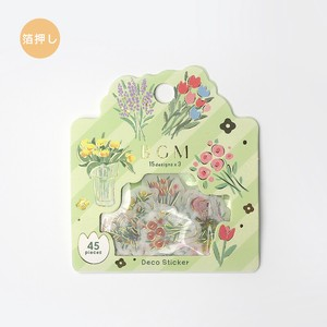 BGM Washi Sticker Crayon Garden