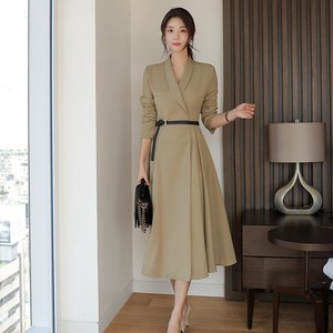 One-piece Dress Formal way Trench Coat Formal One-piece Dress Graduate Admission