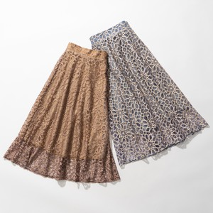 For Big Lace lame Skirt 2 Colors