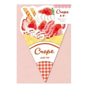 Writing Papers & Envelopes Crepe Mini letter