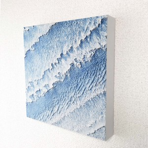 Square Canvas Panel 7mm White-Crested Waves Scandinavia Photography