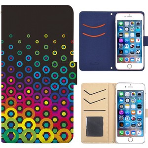 Smartphone Case Notebook Type Leather Notebook Case Cover Model