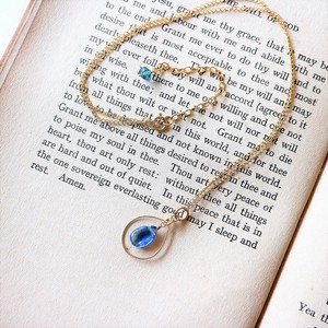 Natural stone Night Necklace