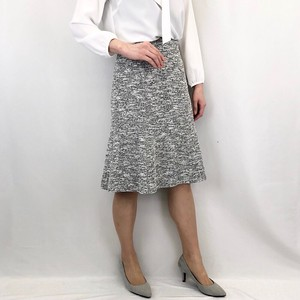 Ceremony Knitted Tweed Skirt
