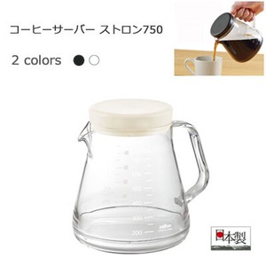 Coffee Server AKEBONO Black White
