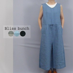 [2021 New Product] Plain-woven V-neck Overall