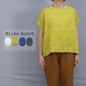 [2021 New Product] Linen Dot Jersey Stretch Switching Pullover