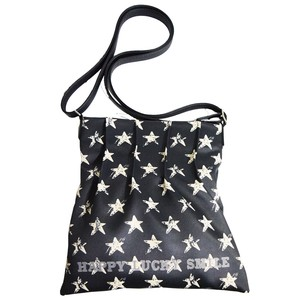 Tipi Star Print Tuck Shoulder Bag