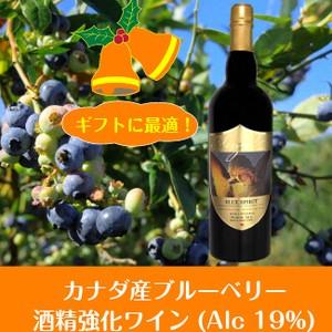 2021イチオシ カナダ産ブルーベリー酒精強化ワイン【初回注文につきサンプル1本プレゼント!】