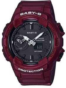 CASIO Baby-G Wrist Watches Wine Red Color