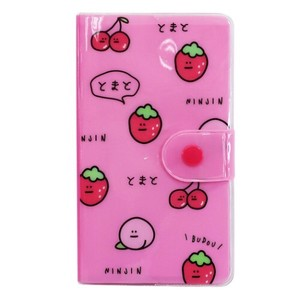 Memo Pad Cover Attached Smartphone type Memo Pad Strawberry