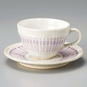 Coffee Cup Saucer Stripe Coffee Plate