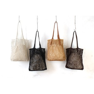 [2021 New Product] Macrame Flat Tote