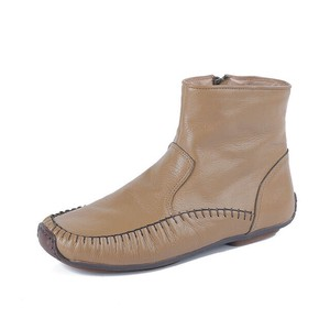 Ladies Short Boots Genuine Leather