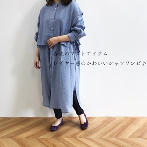 Layer Easy Shirt One-piece Dress