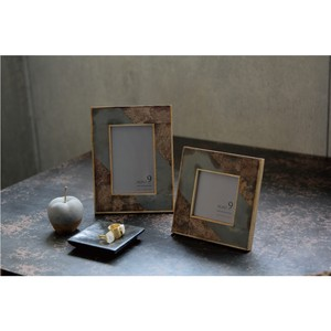 Natural Wood Impression Frame Slate