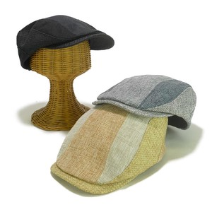 Poly Linen Switching Flat cap Young Hats & Cap