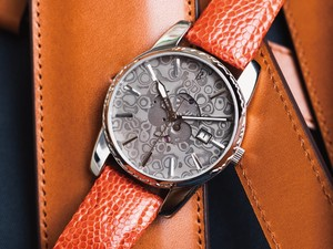 Damascus Watch SAMURAI 腕時計 ベルトカラーオレンジ