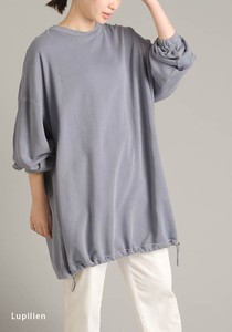 Fleece Pigment Bio Processing Tunic [2021 New Product]