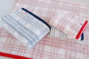 Imabari soft Checkered Bathing Towel
