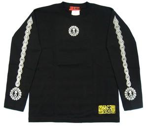 梵字 長袖 Tシャツ 天星宮曼荼羅