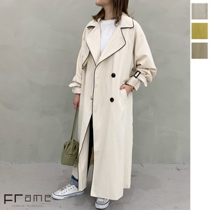 [2021 New Product] Twill Over pin Trench Coat