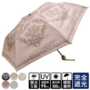 20 S/S All Weather Umbrella Damask Folding UV Cut Countermeasure