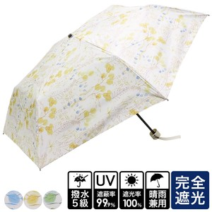 20 S/S All Weather Umbrella Botanical Folding UV Cut Countermeasure